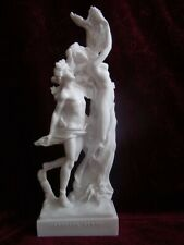 Alabaster Apollon Daphne griechische Mythologie Götter Griechenland (A07/05)