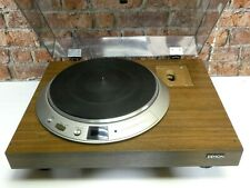 Denon DP-2000 Vintage Hi Fi Separates Use Record Vinyl Deck Player Turntable