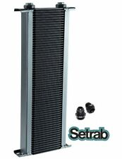 SETRAB OIL COOLER P/N 160 (60 ROW ) P/N 50-160-7612 with FITTINGS, FREE SHIP