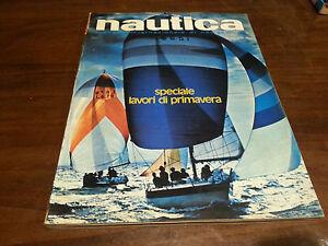 Rivista Nautica giornale NAUTICA anno XV  n° 168 Marzo Aprile 1976