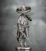 Zinnfigur. Mexican bandit, Hunter Gangster Thug. 54mm 1:32