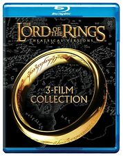 The Lord Of The Rings Trilogy (Blu-ray) New, Factory Sealed
