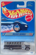 HTF 5 Spoke Hot Wheels 1994 Silver Series Ford B Series Conventional School Bus