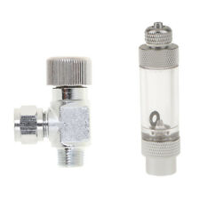 CO2 Bubble Counter Aquarium Tank with Check Valve Diffuser Atomizer Reactor