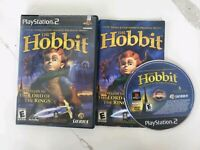 The Hobbit Playstation 2 PS2 Video Game Complete Free Fast Shipping