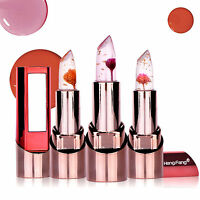 Magic Jelly Flower Changing Color Lipstick Long Lasting Waterproof Moisturizer
