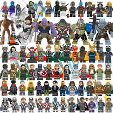 Avengers Minifigures Iron Man Hulk Thor Thanos DC Mark Super-man Batman Marvel