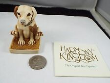 Harmony Kingdom Treasure Jests Scooch Pooch Dog Brown Tjho14 V2 Mib