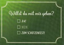 Postkarte / Ansichtskarte : Willst du mit mir gehen? Zum Schützenfest Hannover!