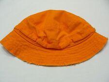 KIDS R US - ORANGE - 3T SIZE BUCKET HAT SUN CAP!