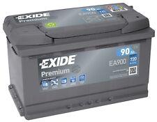 Batterie Exide EA900 Fulmen FA900 12v 90ah 760A 315x175x190mm varta F17 F18