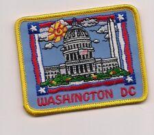 Washington DC Souvenir Patch