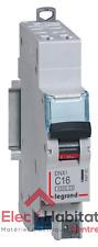 Disjoncteur unipolaire+neutre DNX3 16A Auto/Auto Legrand 406783