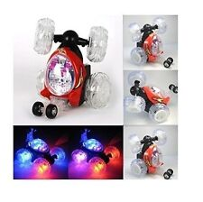 Turbo 360 Twister Rc Stunt coche luces intermitentes Control Remoto Recargable 18 Cm