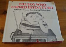 The Boy Who Turned Into A TV Set by Stephen Manes (1979 2nd impression)