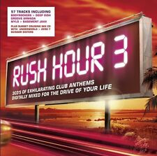 Rush Hour Vol 3 - 57 Various Club Anthem Tracks (3CD 2005) NEW