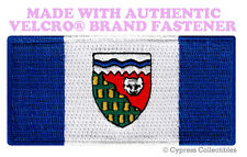 NORTHWEST TERRITORY FLAG PATCH CANADA new CANADIAN w/ VELCRO® Brand Fastener