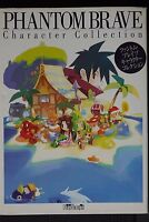 JAPAN Phantom Brave Character Collection Book ARTBOOK