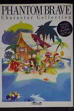 JAPAN Phantom Brave Character Collection Book ARTBOOK OOP