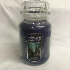 Yankee Candle Halloween HAUNTED HAYRIDE Large 22 oz Jar Candle