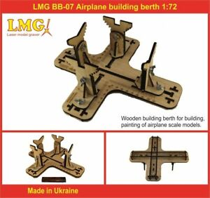 LMG BB-01 Airplane building berth, Laser Model Graving, 1:32-1:144 scale Stand