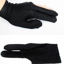 New Elastic Nylon 3 Fingers Glove for Billiard Pool Snooker Cue Shooter Hot