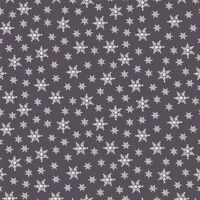 Winter is Coming Snowflakes on Gray Stof Quilting 100% cotton fabric by the yard