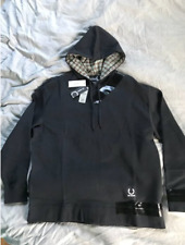 RAF SIMONS × FRED PERRY Detail Black Tape Hoodie Size 42 ( x-large) Men