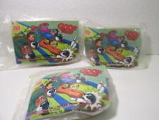 Burger King Set Of 3 Disney's Goof Troop Bowlers Kids Meal Toy  t4674