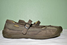 Keen Cush Leather/Canvas Mary Jane Shoes Shoes Women's 10.5