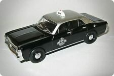 *NEW* XY Ford Falcon Silver Top Cabs Taxi 1:64 Diecast Model Car - Display Case