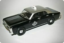 1971 Ford Falcon XY Melbourne Taxi CABS Silver Top Taxis Diecast Model Car 1 64