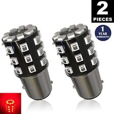 LUYED 2× 800Lumens 2835 33-smd Red Color 1157 BAY15D 2057 2357 7528 LED Bulbs