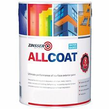 Zinsser Allcoat Multi-Surface clé d'amorçage Extérieur 8 Ans WB Blanc Brillant
