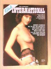 RARE REVUE EROTIQUE VINTAGE EN ANGLAIS / CLUB INTERNATIONAL 5-2 / 02/1976 +++