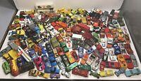 HUGE Lot Of Various Die Cast Cars Hot Wheels/Matchbox/Majorette/Hong Kong + More