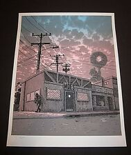 THE SIMPSONS Amanda Hugginkiss Print Poster Tim Doyle Moe's Tavern Unreal Estate