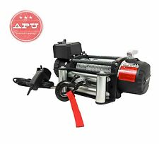 T-Max 12500 lbs Winch 12V Heavy Duty With Remote Control & Steel Cable