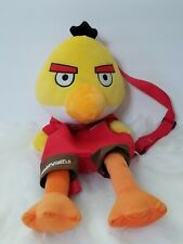 "Angry Birds 21"" Yellow Bird Plush Backpack"
