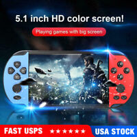 Portable Retro Handheld Game Console Player 5.1'' X7 Plus 8GB Built-in Games USA