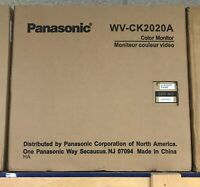 "Panasonic 20"" Color CCTV Security Monitor"