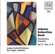 Bach - Brandenburg Concertos Nos. 4-6 / London Festival Orchestra • Ross Pople