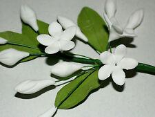 Sugar Flower, Sampaguita, White, Wedding, Celebration Cake Topper, Jasmine