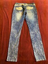 21B👖PREMIERE Women's Low Rise Skinny   Jeans Size 5/6R Measurers 28 X 31