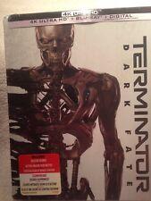 Terminator: Dark Fate [SteelBook] (4K Ultra HD + Blu-ray + Digital) BRAND NEW