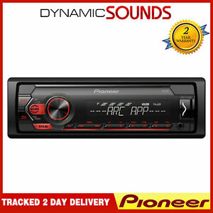 Pioneer MVH-S120UB Car Stereo RDS Tuner MP3 Aux USB iPod iPhone Android Player