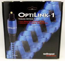 Audioquest OptiLink-1  1 meter Digital Toslink Fiber