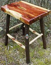 Cedar/Hickory/Diamond Willow rustic LOG Home Furniture TABLE~coffee/bench/decor