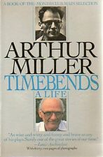 Arthur Miller Timebends A Life Biography 1988 Historic Photos Paperback