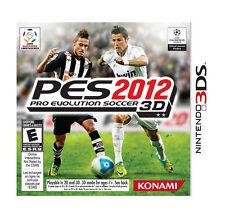 Pro Evolution Soccer 2012 3D PES USED SEALED (Nintendo 3DS, 2012)